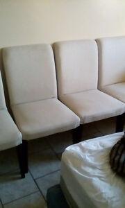 2 IKEA dining room chairs.