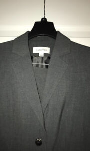 NEW with tags- Lady's Calvin Klein Jacket and pant set size 4