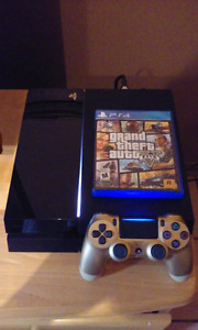 PS4 500GB manette OR GTA5