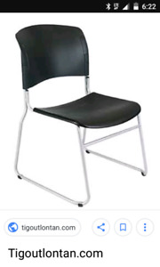 WANTED plastic or vinyl stacking chairs