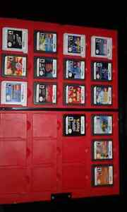 Red 3Ds with 16 Games and Carry Case.  Peterborough Peterborough Area image 2