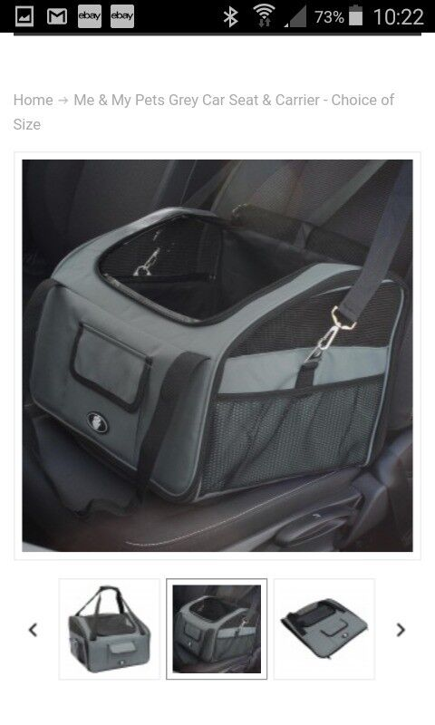 Fold Flat Pet Carrier - used only once