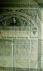 Antique document 1887