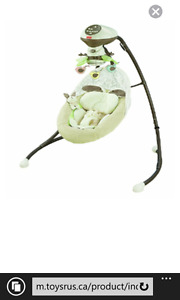 Fisher Price Snugabunny Cradle/Swing