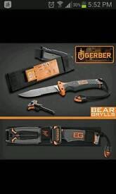 Bear grylls survival equipment like new