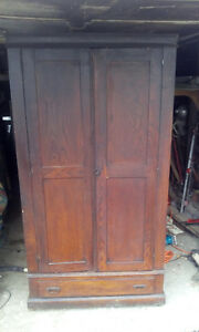 Armore   knock down cabinet antique