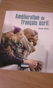 Livre cégep -Amélioration du français écrit