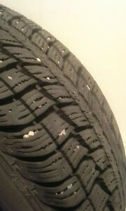 4 WINTER TIRES - 205/50R16 - 85% TREAD