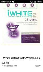 Iwhite2 instant teeth whitening kit