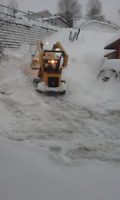 SNOW REMOVAL for our home.
