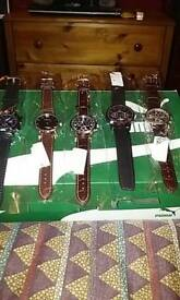 Various mens watches.