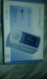 New unwanted Medi direct vascular monitor