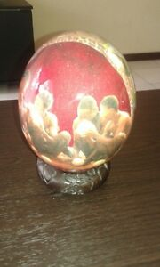 Hand Painted Ostrich Eggs