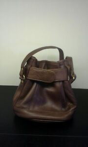 BROWN LEATHER PURSE North Shore Greater Vancouver Area image 1