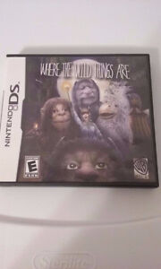 NEW Where the Wild Things Are (Nintendo DS, 2009) Kingston Kingston Area image 1