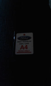 Ford A4 navigation chip