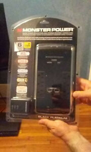 Monster Power Black Platinum 600 Surge Protector