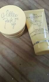 CHAMPNEYS shower cream and body butter
