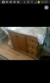 Solid Oak Dresser/ Sideboard