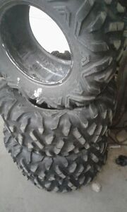 Used Set of MAXXIS BIGHORN Tires, 29x9x14 & 29x11x14, Full Set