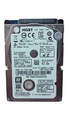 HGST TravelStar Z7K500 HTS725032A7E630 320GB 2.5