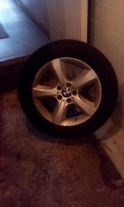 For sale 8 rims with tires for a BMW X5