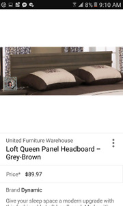 Headboard and Bedframe never used.
