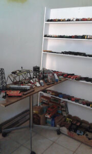Antique Train Set Collection