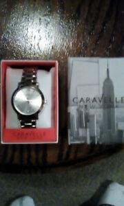 Caravelle New York Men's Watch Stainless Steel 43A131 W Box