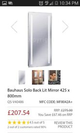 mirror with lights built in BRAND NEW