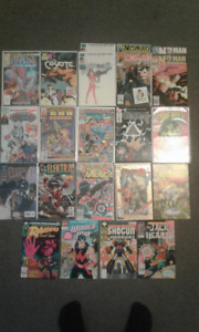 Mixed Lot of Marvel Comic Books #1's  (19 issues)