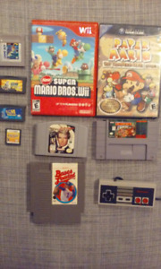 Jeux Nintendo Gamecube, SNES, N64, Wii, NES, DS, Game Boy, gba