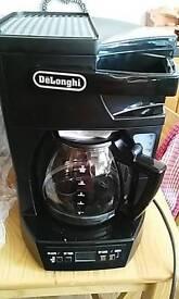 DeLongi 12 cup coffee maker.