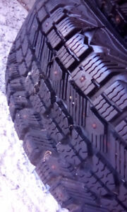 P185/65/14 studded tires set of 4