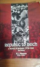 Republic to Reich K.J. MASON (3rd Edition) Claremont Meadows Penrith Area Preview