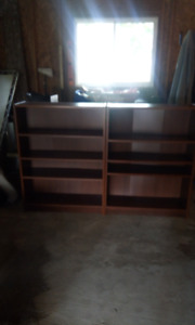 BOOKCASES., 32 by 42  by 11