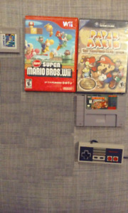 Jeux Nintendo Game cube, SNES, Wii, NES, DS, Game Boy