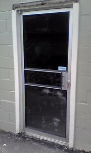 commercial glass door and frame