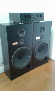 Yamaha RX V595a 5.1 Channel Pioneer CS-R510 15'' 3 way Speakers