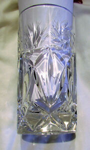 Vintage Crystal High Ball Tall Drinking Glasses -- Set of 4 Kitchener / Waterloo Kitchener Area image 2
