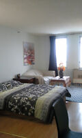 Fully Furnished Studio Downtown Montreal - AVAILABLE NOW