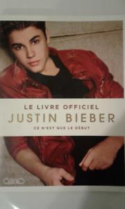 Le Livre officiel Justin Bieber
