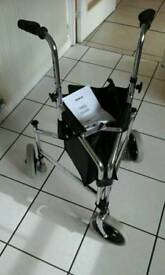 3 wheel walking aid unused