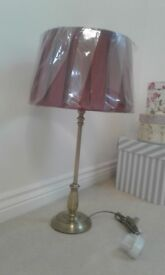 BRAND NEW GOLD TABLE LAMPS