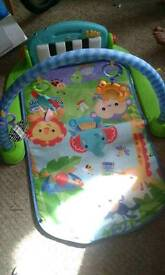 Fisher-price musical play mat