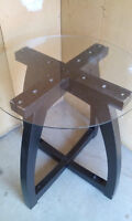 Glass Center Table/Side Table