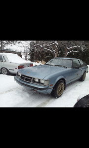 1981 Toyota Supra 5 speed great car to restore