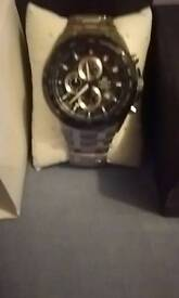 Men's watch. Casio edifice