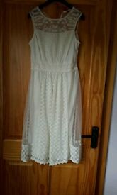 Lace effect dress, never worn