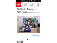 Avengers wall mural wallpaper